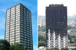 火光照出貧富分化 倫敦大火還沒有「滅」