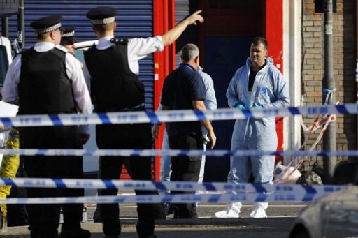 警察趕到事故現場處理。(AFP PHOTO/Tolga AKMEN)