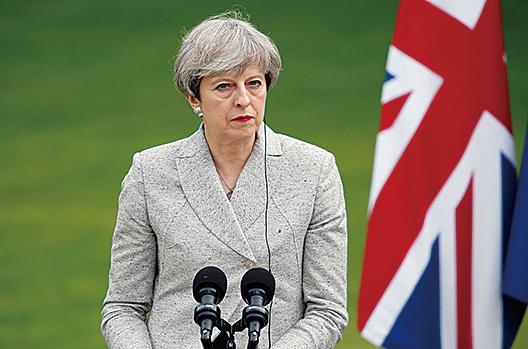 英國提前大選出現讓首相文翠珊意外的結果之後,保守黨內部對於脫歐的問題出現嚴重分歧。(Getty Images)