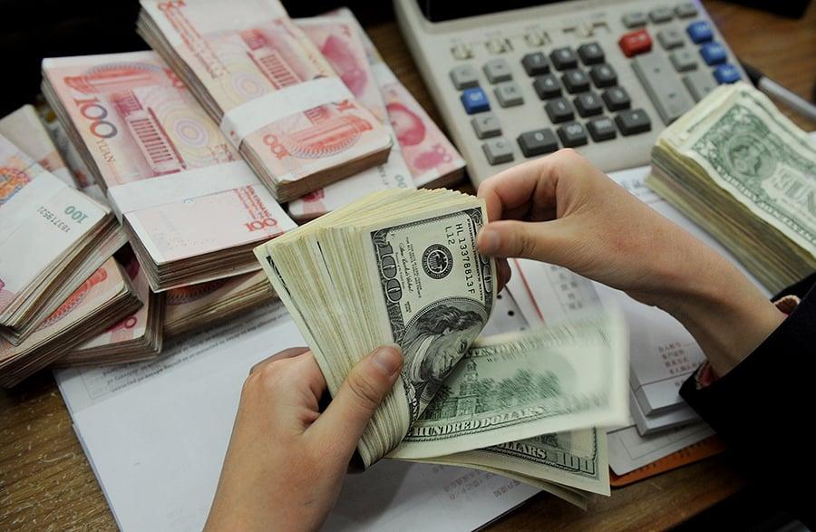央行外匯佔款連降19個月