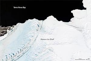 NASA:南極巨型冰架岌岌可危