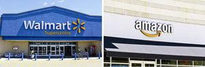 亞馬遜vs沃爾瑪 誰將是終極零售商