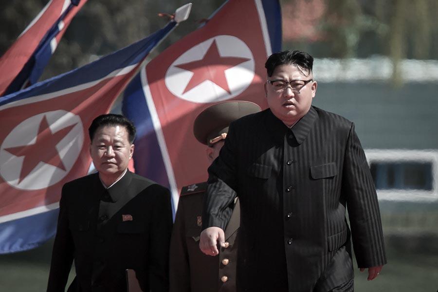 全球對北韓的「包圍圈」不斷收緊,除了西方制裁外,原來與北韓進行合作的「夥伴」──中東、非洲、亞洲各國的態度也發生了變化。(ED JONES/AFP/Getty Images)
