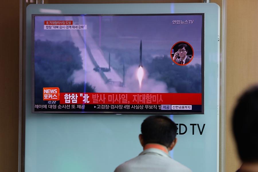 北韓武器到底從哪兒來,引發外界關注。(Chung Sung-Jun/Getty Images)