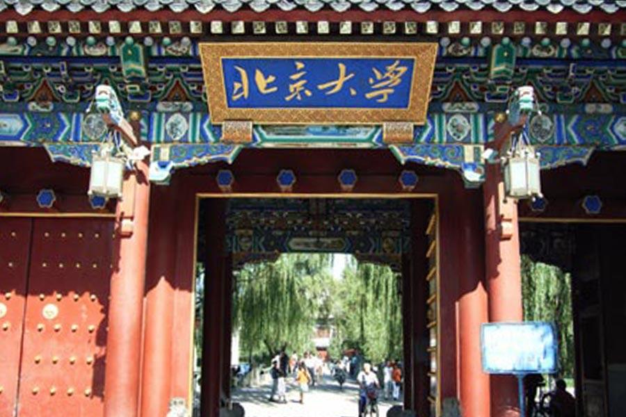 北京大學120周年校慶,面對10多名中共副國級高官及海外來賓,北大校長致辭時,竟然連續讀錯字,引發網絡熱議。(資料圖片)