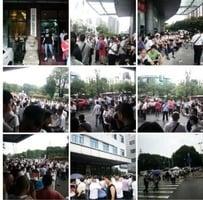 廣東珠海二千餘名司機市府罷工 交通癱瘓
