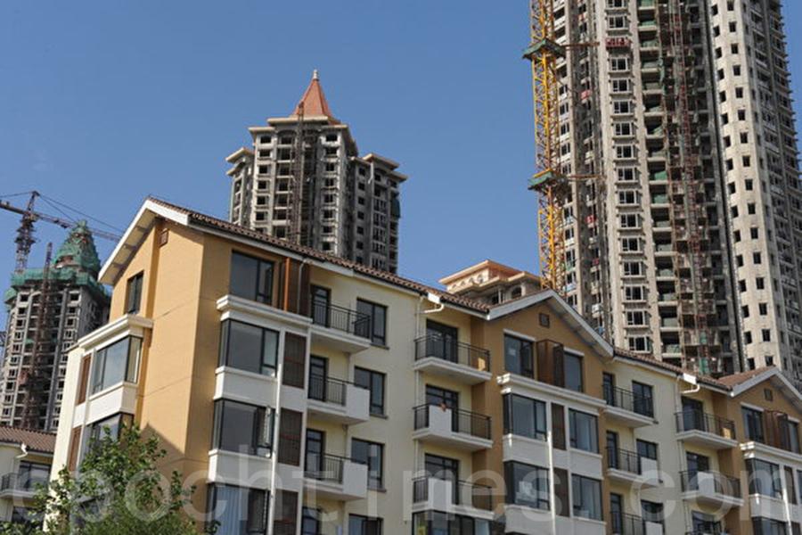 5月份,大陸一線城市房價連續8個月降溫。(大紀元資料室)