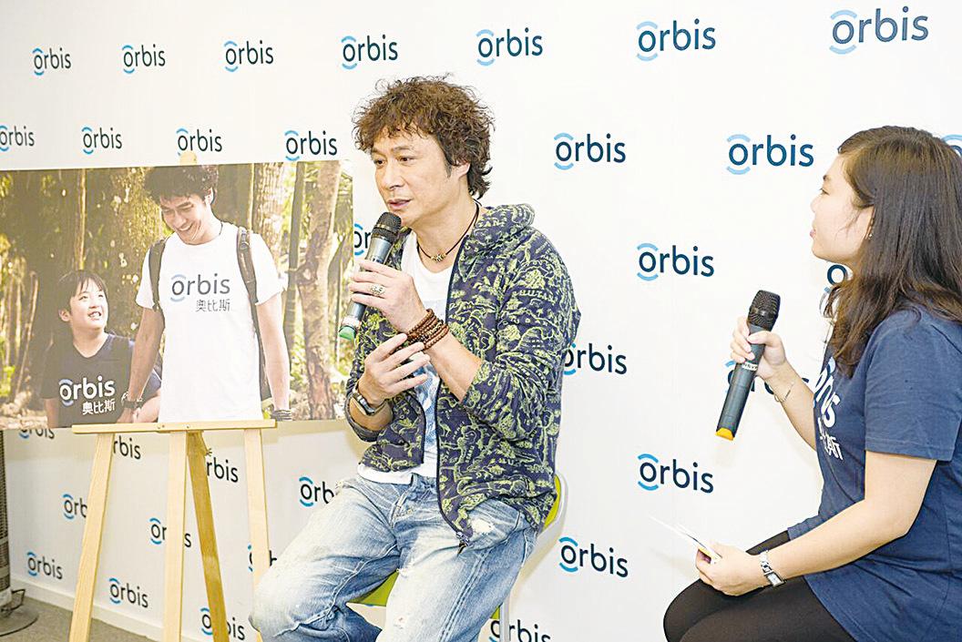 吳鎮宇出席奧比斯孟加拉光明之旅分享會,談此行的感受與體驗。(RSVP公司提供)