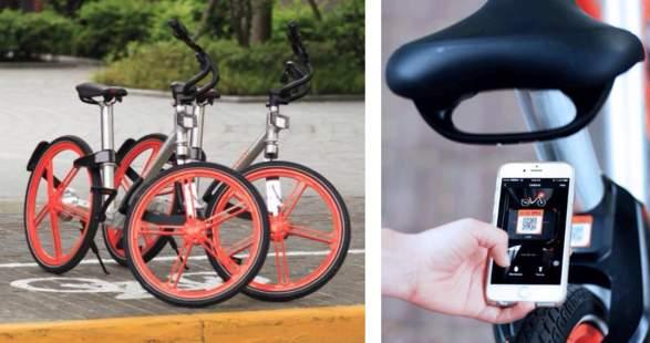 摩拜單車將於7月中旬在日本東京、關西地區開展業務。(網絡圖片)