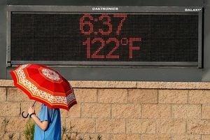 美西南熱浪滾滾 鳳凰城高溫致飛機無法起飛