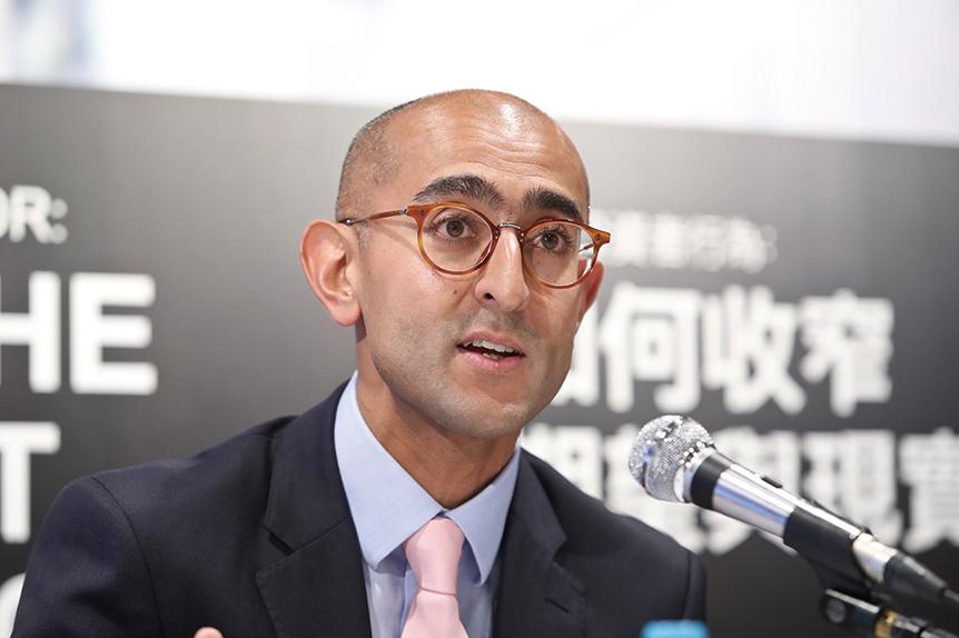 美盛環球資產管理產品分析師團隊董事總經理Ajay Dayal。(余鋼/大紀元)