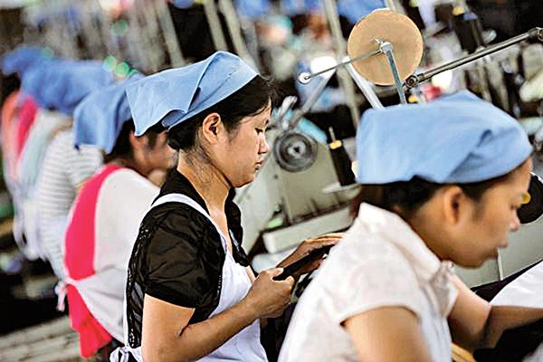 中國製造業稅後利潤僅3.3%