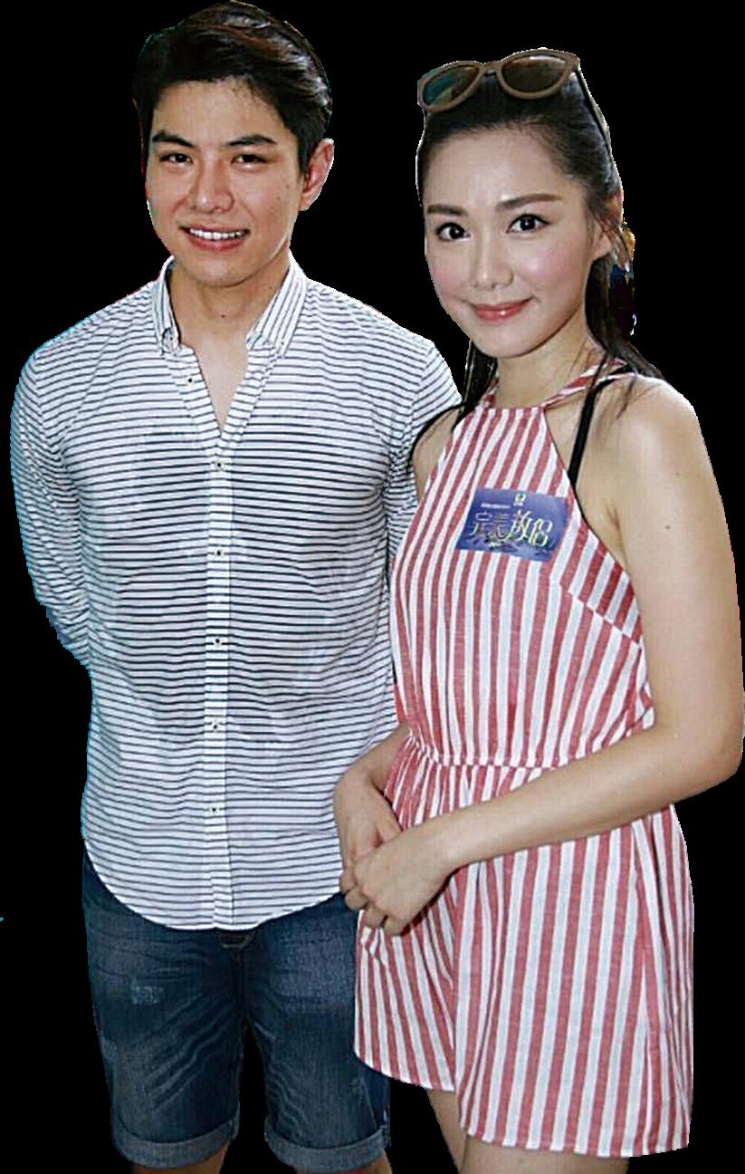 羅天宇在拍攝《愛·回家》時獲湯洛雯支持。(網絡圖片)