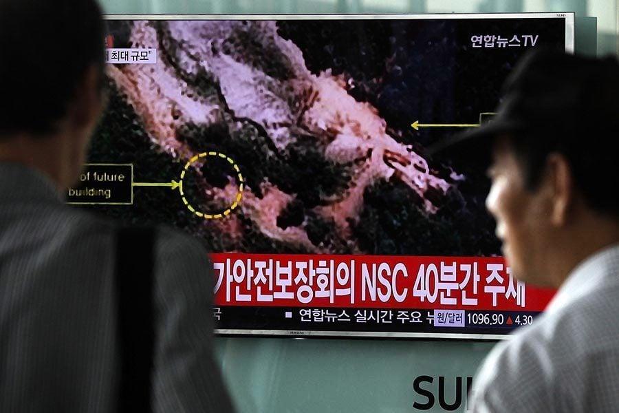 南韓政府:至少四名脫北者受到輻射污染