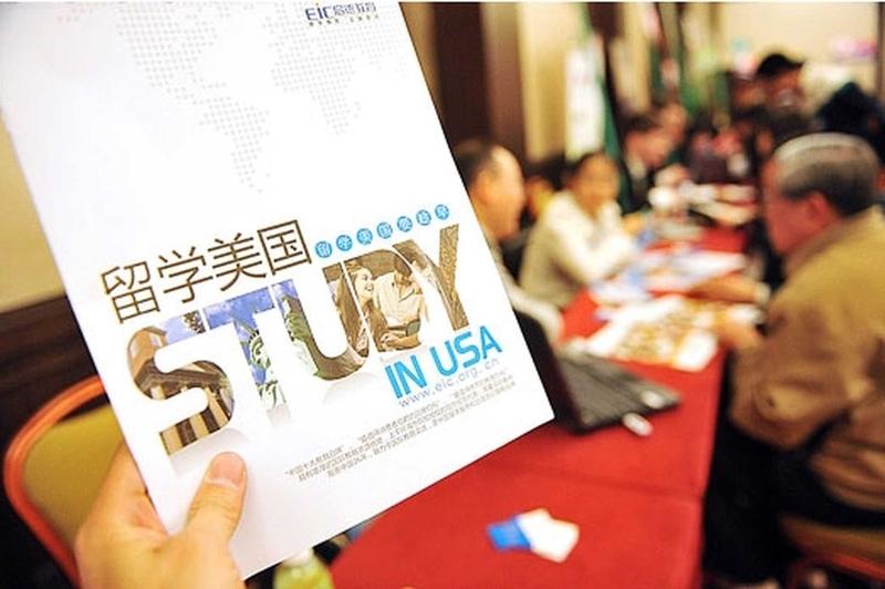 美國是中國留學生首選國家。(大紀元資料室)