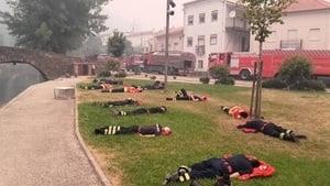永遠可敬的消防員 葡萄牙山火救災照熱傳