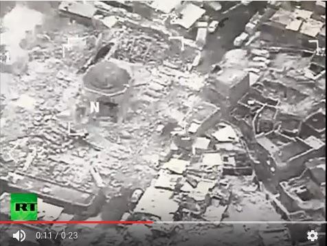 美軍和伊拉克軍說,極端組織「伊斯蘭國」(IS)在摩蘇爾炸毀了這座至少有800年歷史的努里大清真寺。圖為摩蘇爾。(AFP PHOTO / Dimitar DILKOFF)