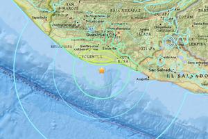危地馬拉外海6.8級強震