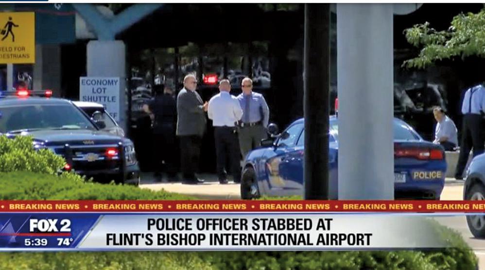 加國男子在美機場襲警 FBI作為恐襲調查