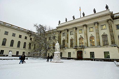 柏林洪堡大學。(Getty Images)