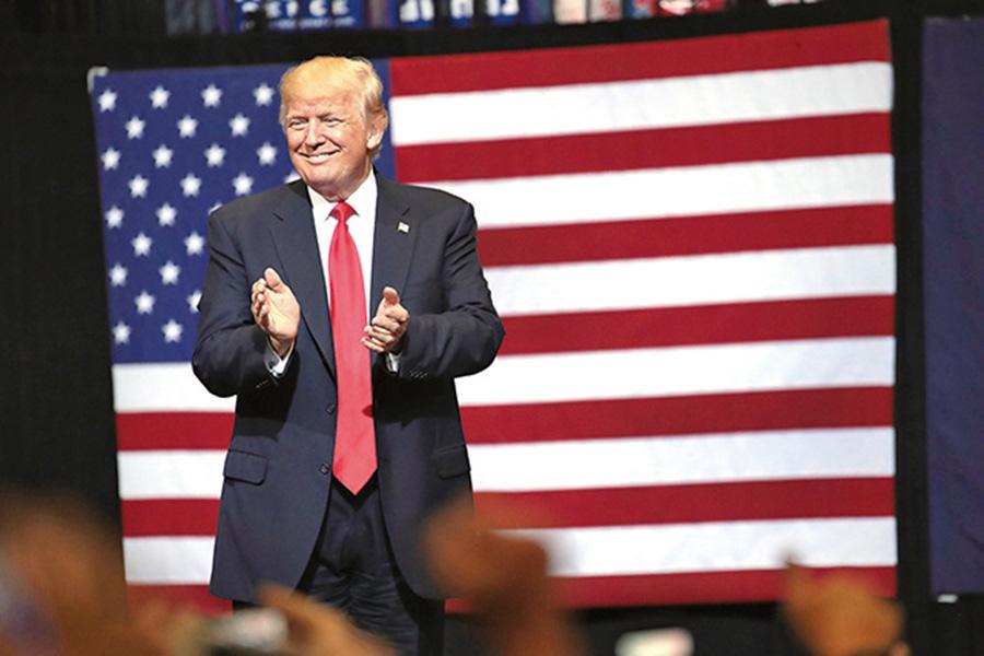 美國總統特朗普昨日再表示,本希望在北韓問題得到中國更多幫助,但最終沒有結果。(Getty Images)
