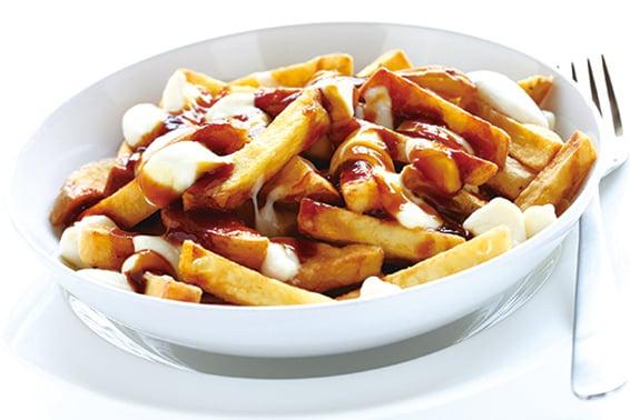 肉汁芝士薯條是著名的加拿大小吃。