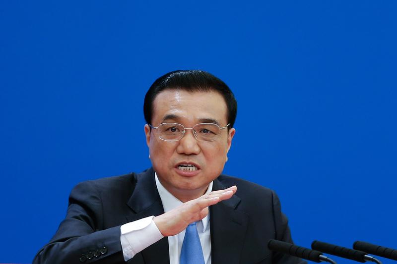 6月21日,在國務院會議上,政府總理李克強要求政府部門對待各類新業態、新模式要有「包容審慎」態度。(Lintao Zhang/Getty Images)