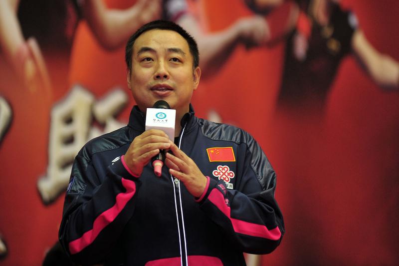 圖為卸任中國乒乓球隊總教練的劉國梁。(大紀元資料室)