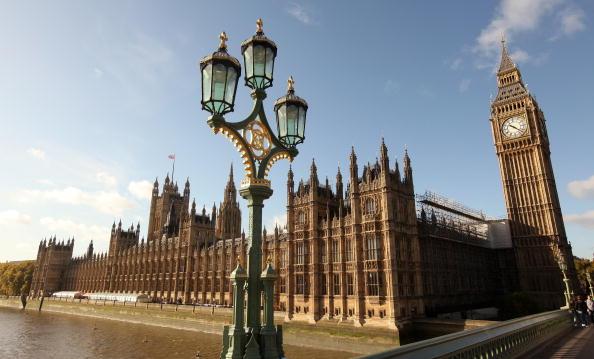 英國議會大樓。(Getty Images)