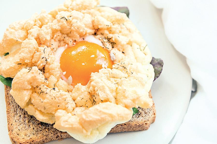 夢幻美食 造型可愛的雲蛋