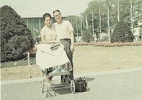 吾妻抵美五十年