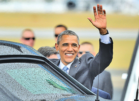 美國總統破冰首訪古巴