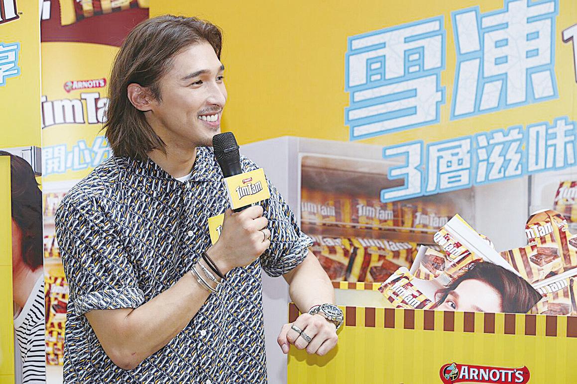 黃又南昨在銅鑼灣出席甜品宣傳活動。(經紀公司提供)