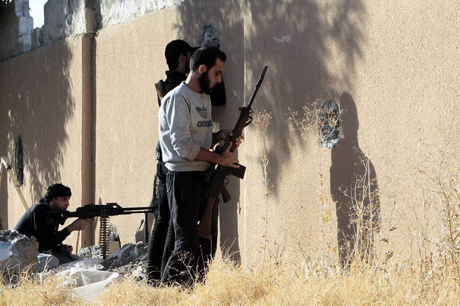 聯軍步步逼近 伊斯蘭國在拉卡再失地盤