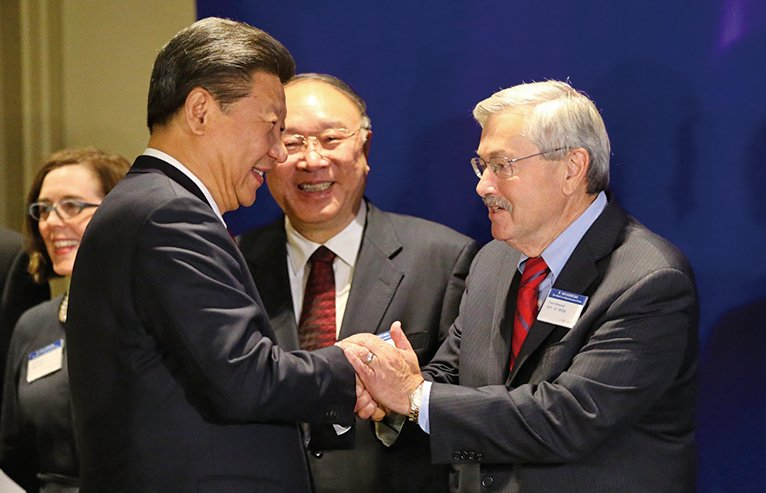 美駐華大使向中國人發微博介紹首要任務