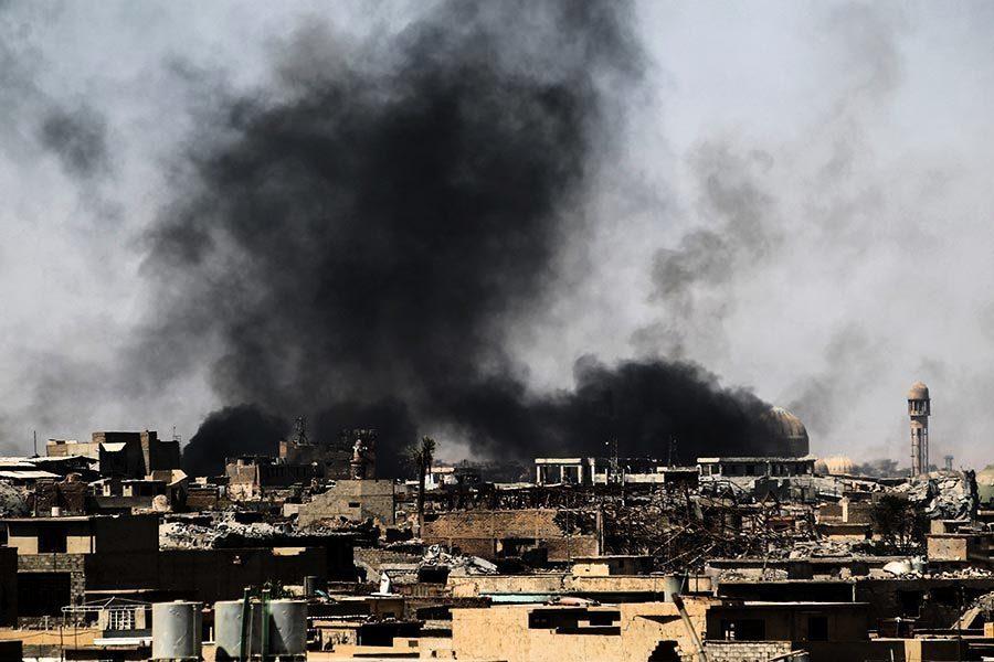 IS在摩蘇爾只剩300人 佔地僅500平方米