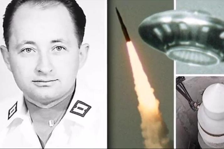 辛德勒上尉回憶,UFO導致基地的核導彈系統失靈。(YouTube視像擷圖)