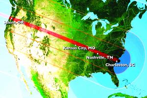 8月美國大日食 罕見天象將令氣溫驟降
