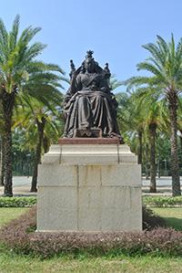 維多利亞女皇銅像。(康文署網頁)