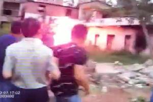 夜半暴力強拆引爆汽油罐 川民燒傷下落不明