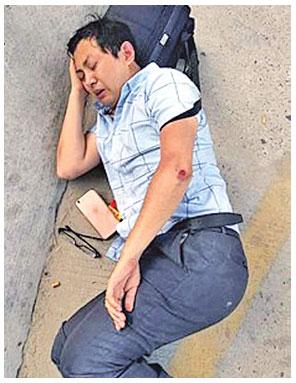 律師江蘇法院門前被打斷腿