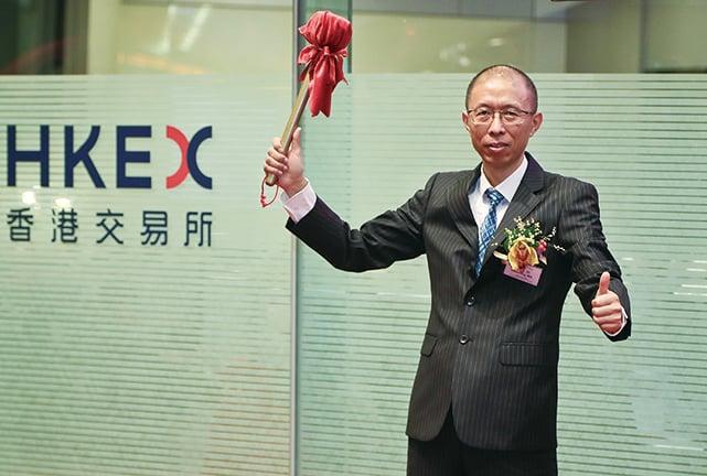 信邦控股董事長馬曉明。(余鋼/大紀元)
