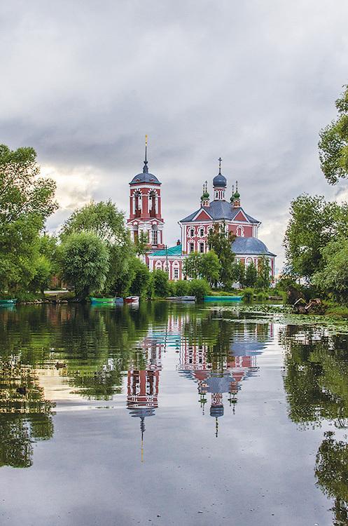 佩列斯拉夫爾-扎列斯基城。(Belliy/Wikimedia Commons)