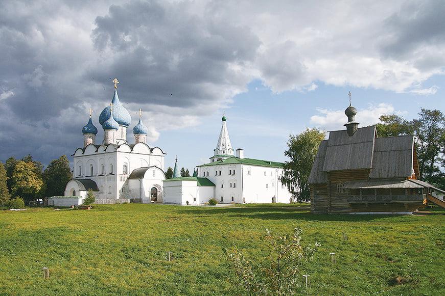 蘇茲達爾城克里姆林宮。 (Ludvig14/Wikimedia Commons)
