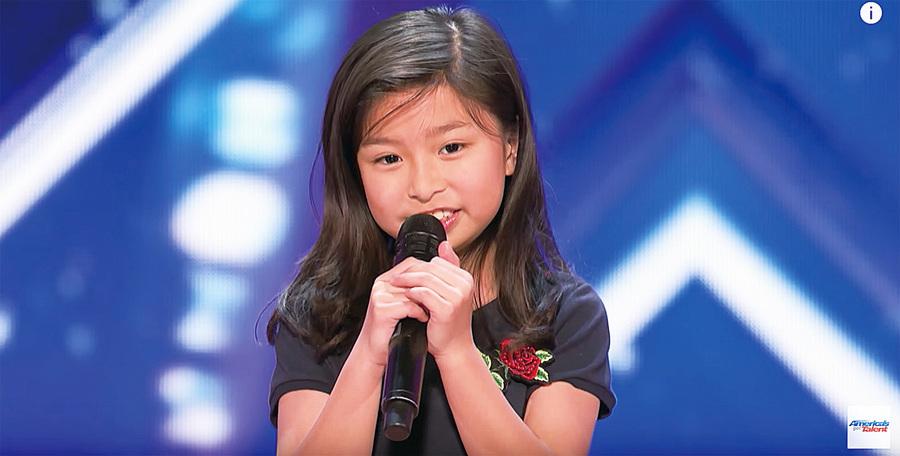 技驚《全美一叮》 9歲譚芷昀自評100分