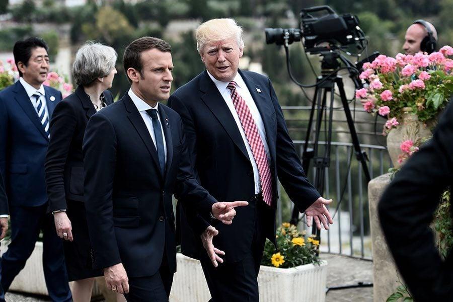 接受馬克龍邀請 特朗普在法國慶日訪問巴黎
