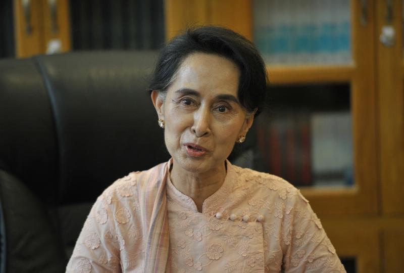 緬甸全民盟:昂山將出任外長