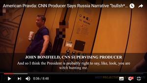 CNN製片人承認特朗普通俄報道「大多瞎扯」