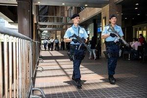 習近平訪港 警方戒備空前嚴密