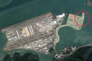 港珠澳大橋人工島再有兩鋼筒嚴重移位